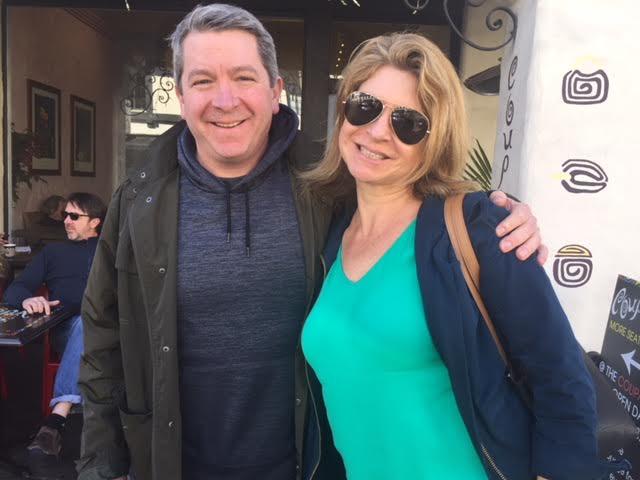 Josh and Hallie 2017 Coupa Cafe, Palo Alto